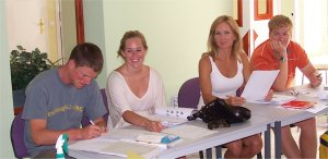 French Group Language Courses in Nice