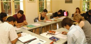 French language students in Aix