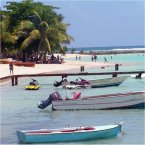 Guadeloupe beaches and boats