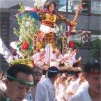 Japanese carnival in Fukuoka